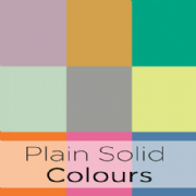 Plain Solid Colours Fabric